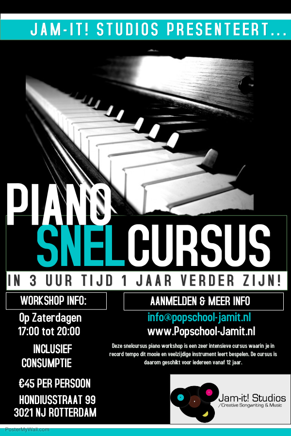 Snelcursus Piano